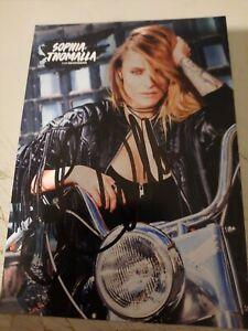 Sophia Thomalla TV Schauspielerin original signierte AK Autogrammkarte