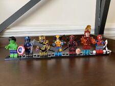 Marvel Comics Wolverine And Deadpool Building Blocks MiniFigures Lego Compatible
