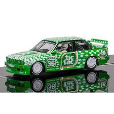 Scalextric Slot Car C3865 BMW M3 E30, deporte evolución equipo Tic Tac