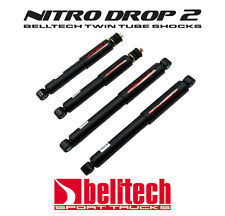 98-03 Nissan Frontier Nitro Drop 2 Front/Rear Shocks for 2/3 Drop