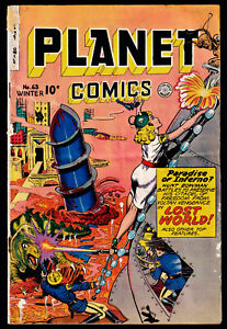 1949 Fiction House Planet Comics GD+
