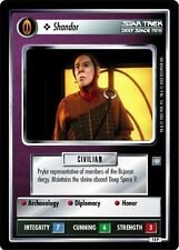 Star Trek CCG All Good Things Shandor 15P
