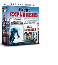 GREAT EXPLORERS DVD & BOOK GIFT SET - LOST IN EVEREST'S DEATH ZONE DVD