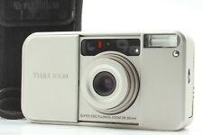【EXC+5】Fuji Tiara Zoom 28-56mm Point & Shoot Film Camera, Case & Strap, JAPAN