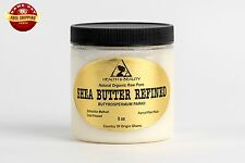 SHEA BUTTER REFINED ORGANIC by H&B Oils Center COLD PRESSED FROM GHANA RAW 8 OZ