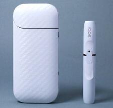 IQOS Skin Design Film for 2.4/2.4Plus - Carbon Fiber White