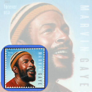 2019  MARVIN GAYE  Music Icons Series  Individual  USPS  Forever®  Stamp  MINT