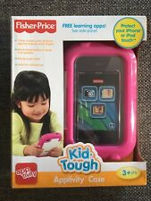Fisher-Price Apptivity Case for iphone 3, 4 ipod 2, 3, 4 gen kid-tough New pink