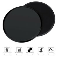 1 Pair Crossfit Gliding Discs Glide Fitness Exercise Core Slider Core Training