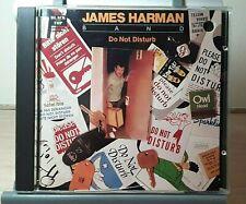 James Harman Band - Do Not Disturb Promo CD ~ 1991 Black Top ~ Used, like-new
