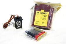 Batterie-Set 5, Krippenbeleuchtung, LED Laterne, Krippenzubehör, Krippenelektrik