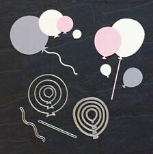 """Stanzschablone """"Partyballons NO.04"""" geeignet für die Big Shot Luftballon Party"""