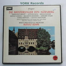 RLS 696 - WAGNER - Die Meistersinger Von Nurnberg KEMPE - Ex 5 LP Record Box Set