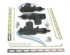 3 Universal Door Lock Actuator Motors - 2 wire w/ hardware 3 pcs.