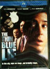 The THIN BLUE LIE (2000) Rob Morrow Randy Quaid Paul Sorvino G.W.Bailey SEALED