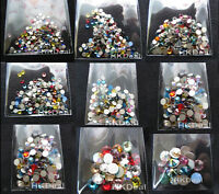 Mix Assorted Color Swarovski Flatback Rhinestone Crystal Nail Art [Choose Size]