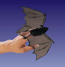 BLACK BAT Finger Puppet # 2612 ~ Folkmanis Puppets ~FREE SHIPPING in USA