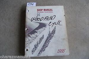 1986 Bombardier Shop Service Manual