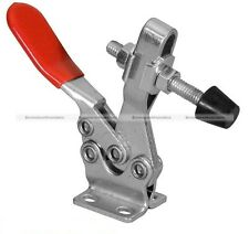 Metal Toggle Clamp Horizontal Handle Tool 250Kg 550Lb Holding Capacity 225D S2