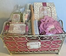 Savon de Fleur Luxury Bath Collection Gift Spa Basket Mothers Day Shower Birthdy