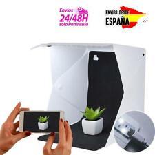 Caja Cubo De Luz Led Para Hacer Foto Estudio Iluminación Fotografía LED Portátil