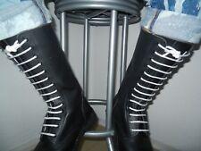 Springerstiefel Gr.42 / 8 Boots Gay Skin Punk Punx Skinhead Springer 14 Loch
