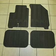 Dodge Journey 2009-2010 Slush Floor Mats Dark Slate Gray Front & Rear OEM Mopar