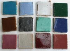 20 St. original marokkanische Zellige Mosaikkacheln Handarbeit bunt Mix Basteln