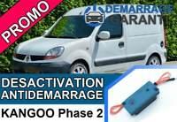 Clé de désactivation d'anti démarrage Renault KANGOO 1 PHASE 2