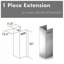 New listing Zline Wall Chimney Extension up to 10ft ceiling models 667, 697, 455, 476, 477