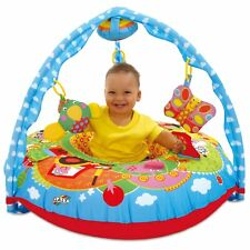 GALT Toys First Years Baby Playnest Play Mat Inflatable Ring and Gym Farm