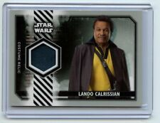 2020 STAR WARS Rise of Skywalker Series 2 LANDO CALRISSIAN Costume RELIC /25