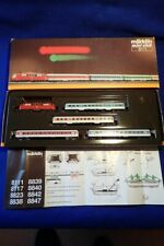 Marklin Mini-Club Z gauge 8111 SET - DB ELECTRIC LOCO + 4 COACHES - BOXED
