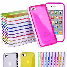 Unbranded/Generic Glossy Mobile Phone Bumpers for Apple