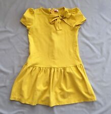 Preloved il gufo Italy GIRL YELLOW DRESS 9 - 10yrs SZ 10a *SEE FREE POST DEAL