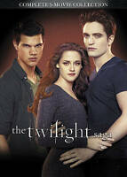 Twilight Saga 5 movie collection (dvd) New Free Shipping