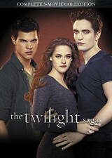 TWILIGHT SAGA COMPLETE 5 MOVIE COLLECTION .