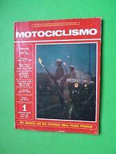 Motociclismo 1 Gennaio 1973 Suzuki GT 550 Bultaco Sherpa 350 Guzzi Stornello 125