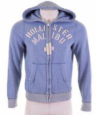 HOLLISTER Mens Hoodie Sweater Medium Blue Cotton  GH17
