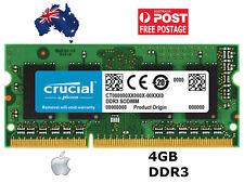 "4GB for Apple iMac Retina 5K 27"" 2015 DDR3L 1866 SODIMM PC3 1.35V Crucial Memory"