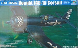 1/32 Trumpeter Vought F4U-1D Corsair Assembly kit.