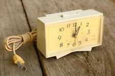Vintage Alarm Clock General Electric Lighted Running Tested Old Estate Wear AZ