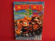 Donkey Kong Country 3 perfect strategy guide manual book/ SNES