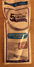 Natural White 5 Minute Tooth Whitening System five minute Teeth..fast easy