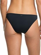 ROXY Women's Solid Beach Classics Moderate Swimsuit True Black Size Small