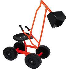 Escavatore metallo 360° ruotabile Recinto per la sabbia Escavatore bambini