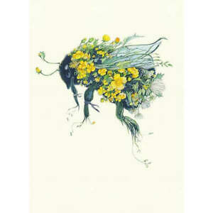 Bumblebee Greeting Card by The DM Collection