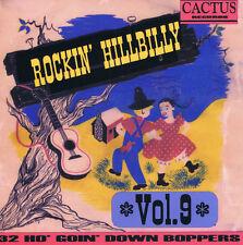 ROCKIN' HILLBILLY Volume 9 CD Rockabilly Country 1940s 1950s NEW