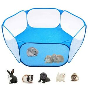 Playpen Portable Small Animals Pet Pop Indoor Outdoor Exercise Cage Game Fence