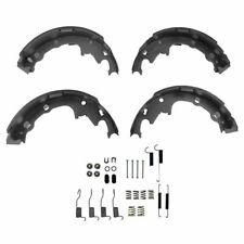 Rear 9 Inch Drum Brake Shoe Set w/ Hardware Spring Kit Set for Chrysler Dodge